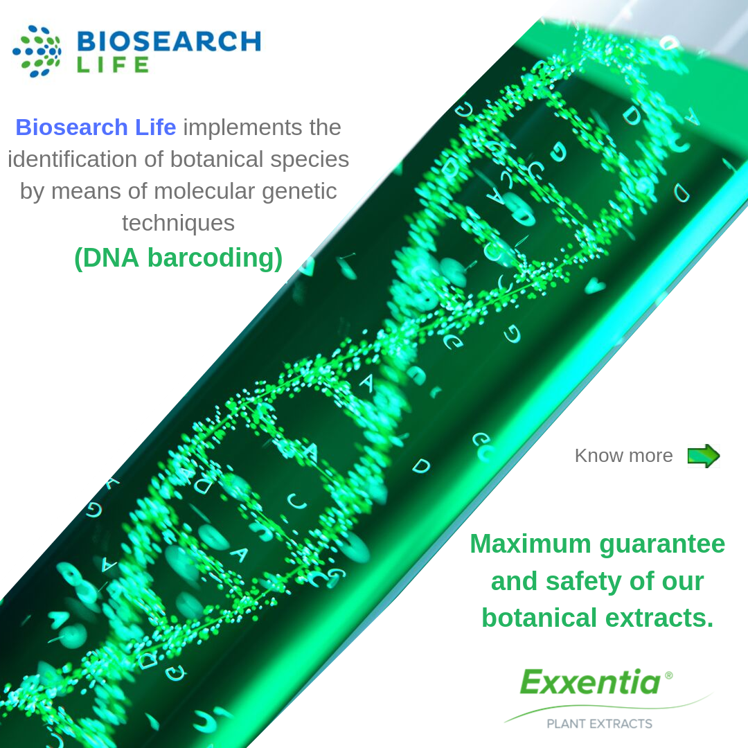 Exxentia DNA botanical extracts
